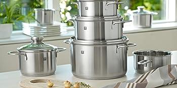 Zwilling 40110-009 - Batería de cocina, set de 5 piezas