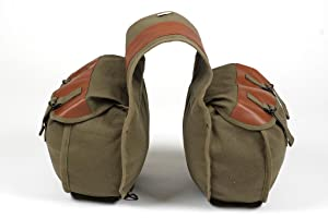 saddle, bag, classic, canvas