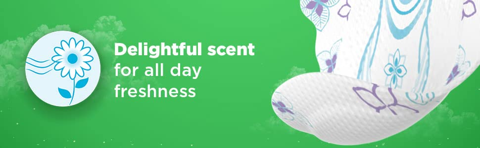 delightful scent for all day freshness