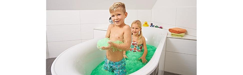 Simba 105954666 Glibbi Slime für die Badewanne Schleim