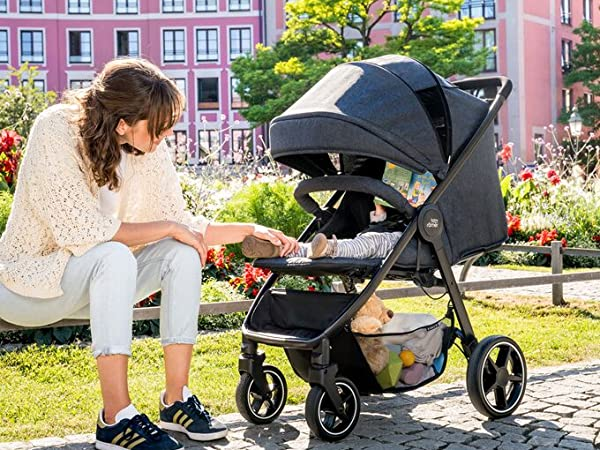 UV Cut New Sunshade//Sunshade for Baby stroller Wide Sunblock Universal and easy installing Manito Pushchair and Car Seat Orange