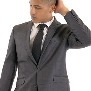 Slim fit, stretch, mens suits