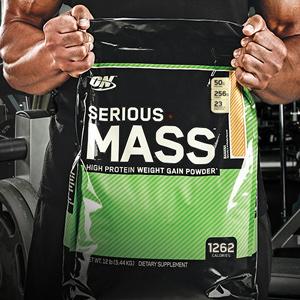 Serious Mass, Weight Gainer, Mass Gainer, Gainer Powder, Weight Gain, Healthy powder, ON, Optimum