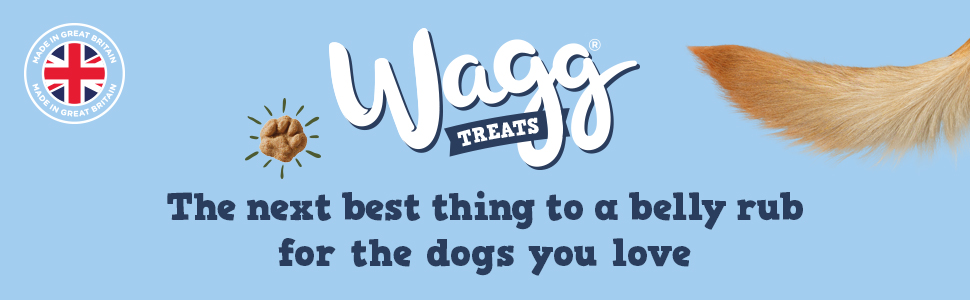 wagg treats the next best thing to a belly rub for the dogs you love