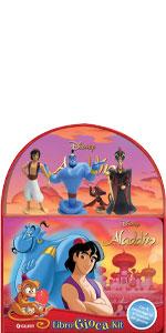 Aladdin. Libro gioca kit. Con 4 gadget