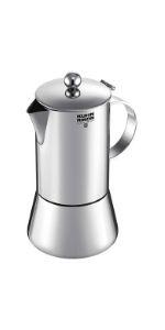 KUHN RIKON 38095 Cafetera italiana espresso JULIETTE acero ...