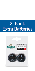 rfa-67 petsafe collar replacement battery pif 300 wireless inexpensive 2 pack