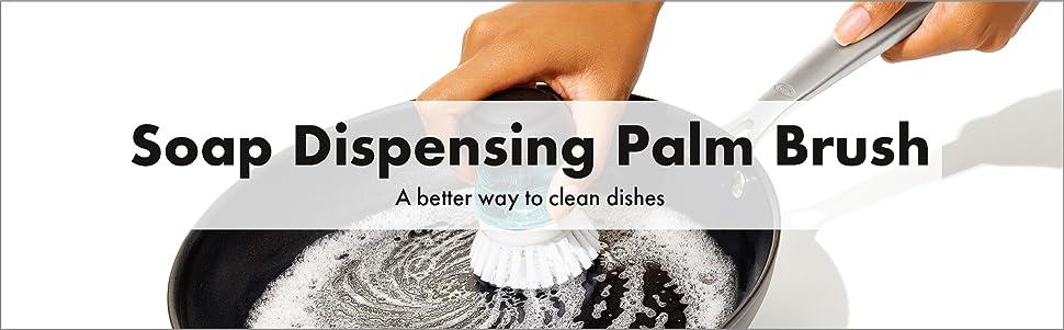 OXO Good Grips Soap Dispensing Palm Brush