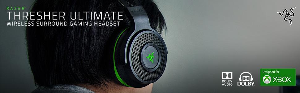 20d138fc318 Amazon.com: Razer Thresher Ultimate for Xbox One: Dolby 7.1 Surround ...