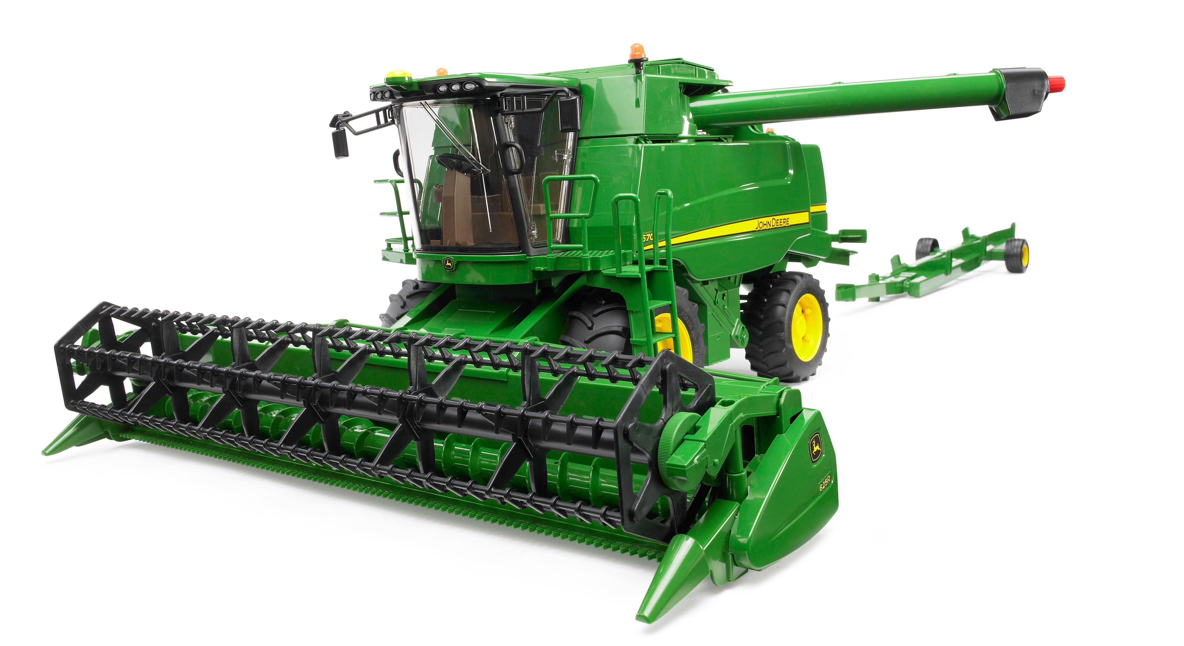 John Deere Combine >> Bruder John Deere T670i Combine Harvester