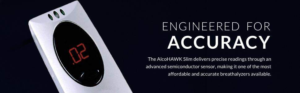 Amazon.com: alcohawk Slim – Alcoholímetro digital alcohol ...