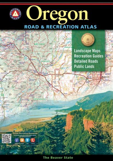 Oregon Benchmark Road & Recreation Atlas: Benchmark Maps
