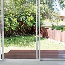 keyless sliding door lock