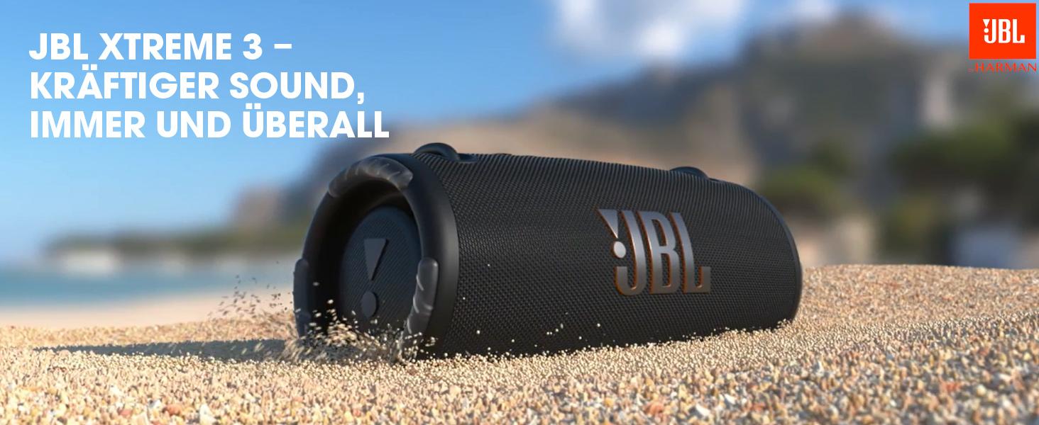 Jbl Xtreme 3 Musikbox In Schwarz Wasserdichter Portabler Stereo Bluetooth Speaker Mit Integrierter Powerbank Mit Nur Einer Akku Ladung Bis Zu 15 Stunden Musikgenuss Audio Hifi
