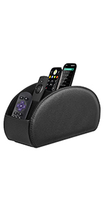 TV Remote Holder with 5 Compartments