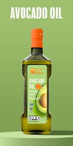 Naturally Refined Avocado Oil Organic Paleo Keto