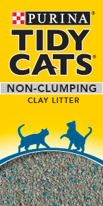Purina Tidy Cats non-clumping clay cat litter