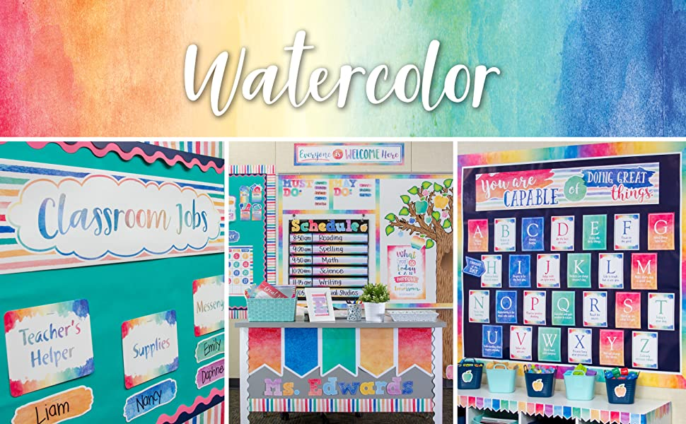 watercolor collection banner