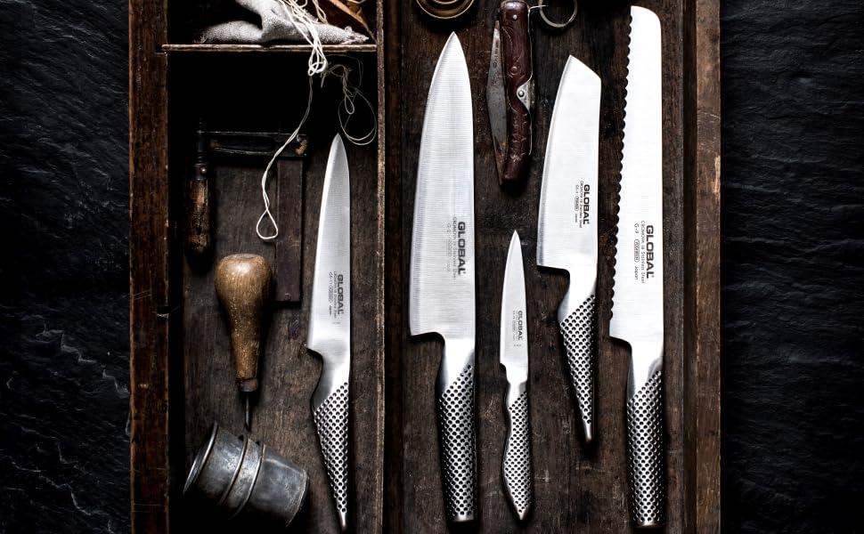 Global, Japan, knife, knives, samurai