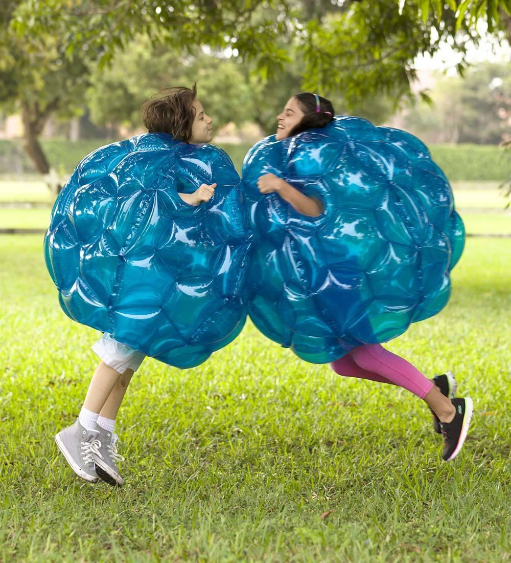 Amazon Com Hearthsong 174 Blue Bbop Buddy Bumper Ball
