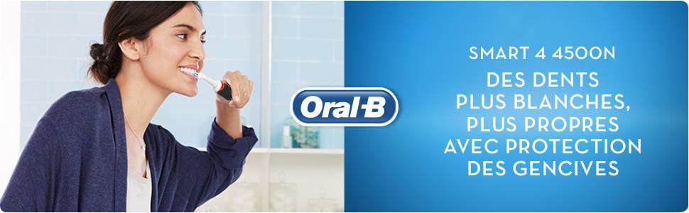 Brosse à dents électrique Oral-B Smart 4 4500N