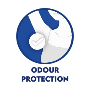 odour control in just one use
