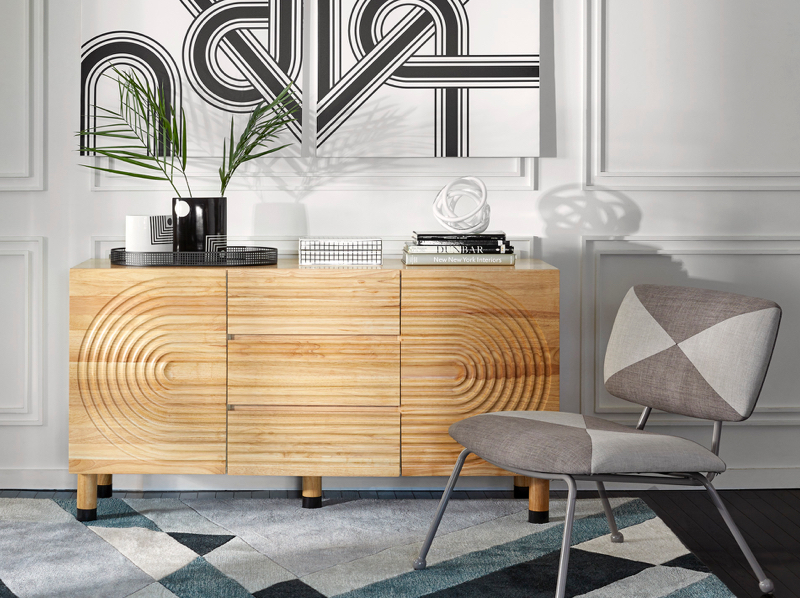 Amazon Com Now House By Jonathan Adler Josef Sideboard Buffet