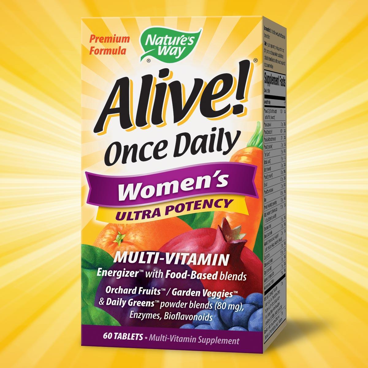 Nature S Way Premium Alive Women S