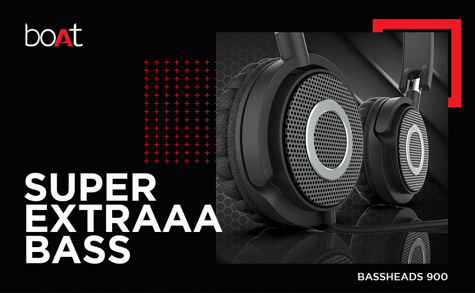 Buy boAt Headphones   boAt Bassheads 900 On Ear Wired Headphones(Carbon Black)