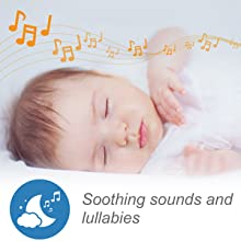 Soothing sounds and lullabies