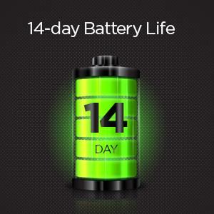 Duración de la batería de 14 días