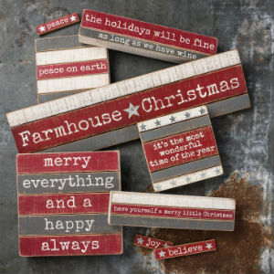 farmhouse style christmas xmas holiday dish tea kitchen towel gift decor primitives by kathy