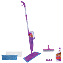 Click n Clean Multi-Surface Spray Mop, Spray Mop, Flat Mop, Dust Mop, Wet Mop, Multi-Surface Mop