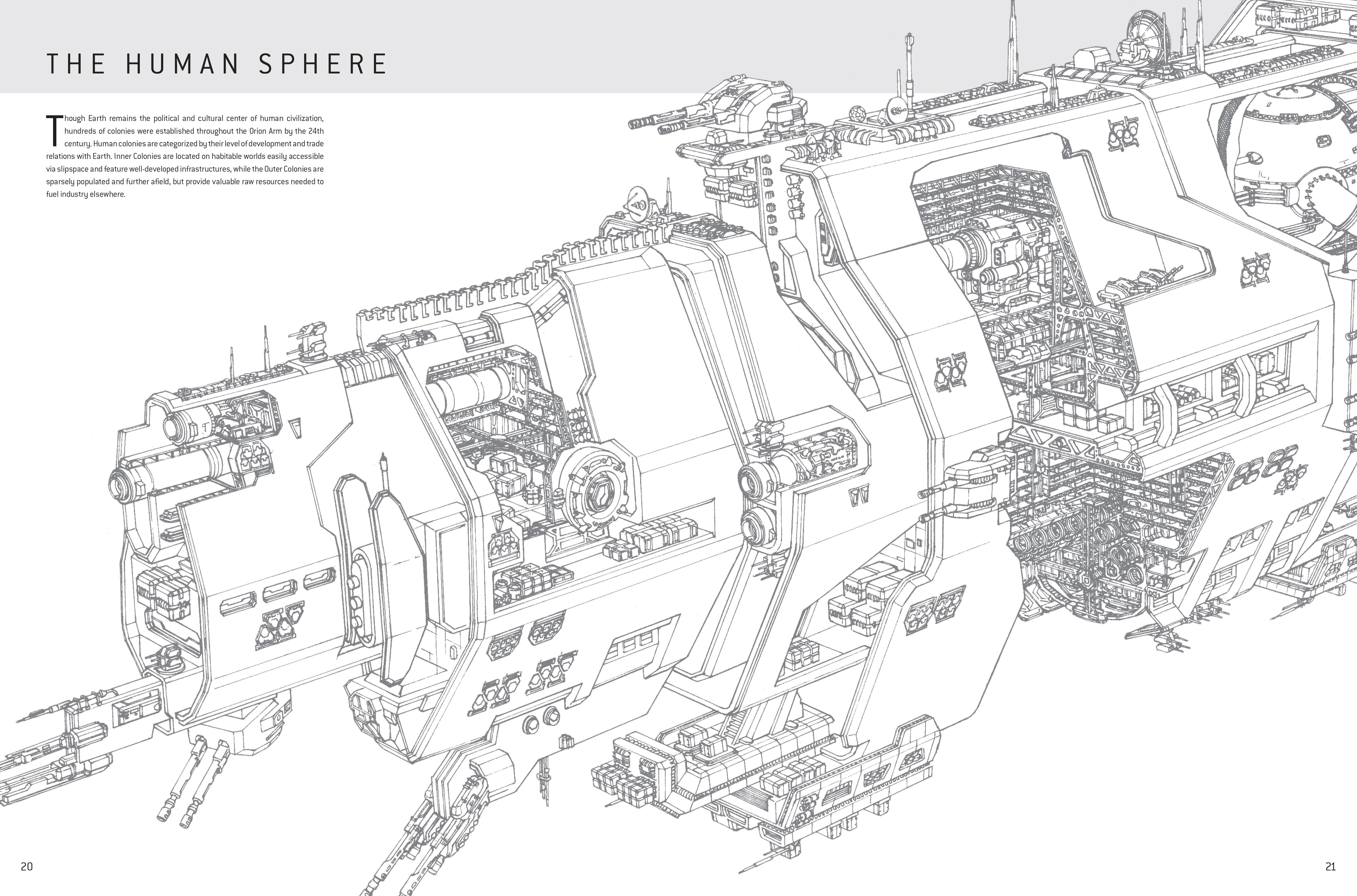 Halo Warfleet 9781681196633 343 Industries Hans Earth Cross Section Diagram For Pinterest