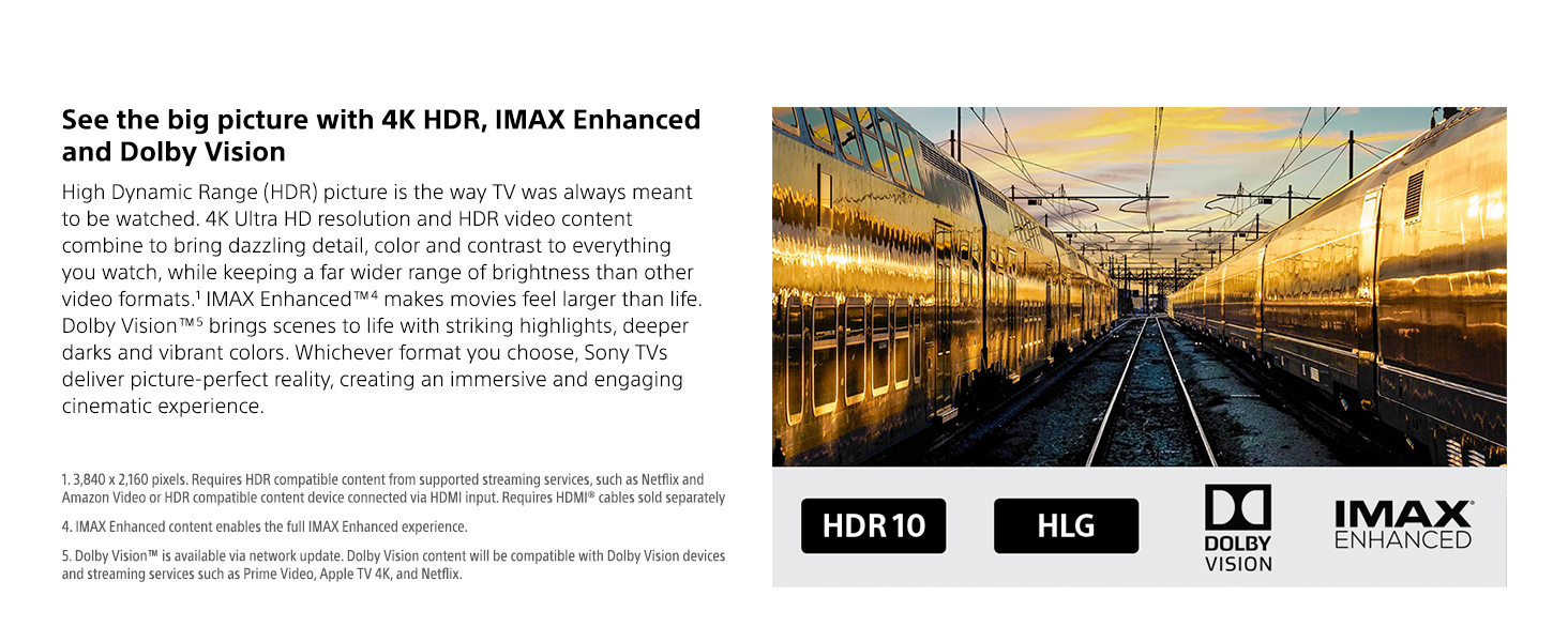 Dolby Vision & IMAX