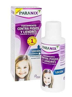 Paranix Loción. Tratamiento para Piojos y Liendres - Incluye Lendrera - Sin insecticidas -100 ml: Amazon.es: Salud y cuidado personal