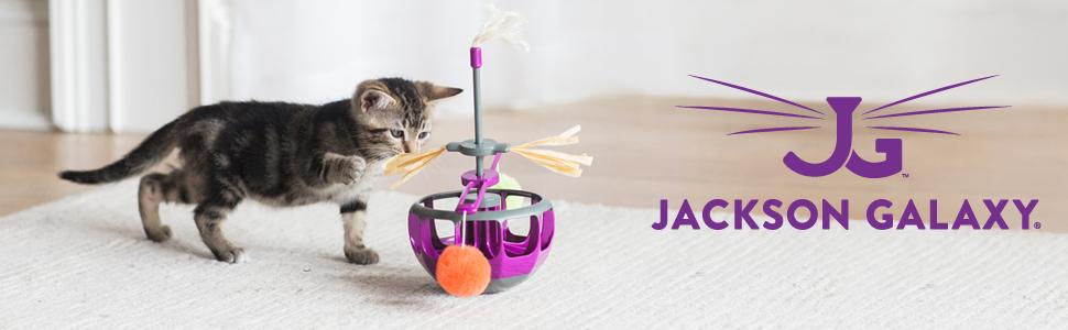 Jackson Galaxy Ground Prey Cat Wand With