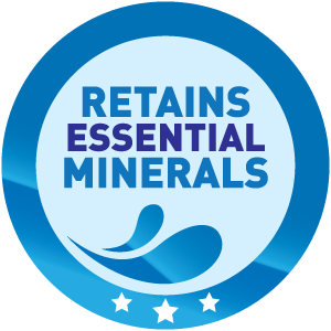 Retains Essential Minerals
