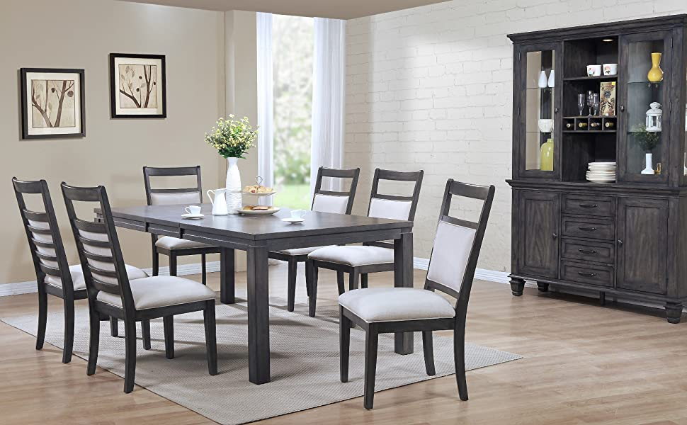 table sets,dining tables,gray dining table