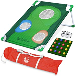 Amazon.com: GoSports - Juego de cornhole de golf para patio ...