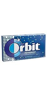 Orbit Peppermint Sugarfree Gum Pack