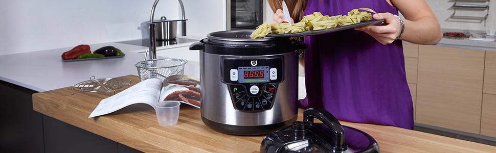 Olla programable GM Modelo E. Robot de cocina programable ...