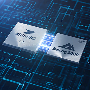 Powered by the Balong 5000, HUAWEI's first 7nm multi-mode 5G chipset with the Kirin 980