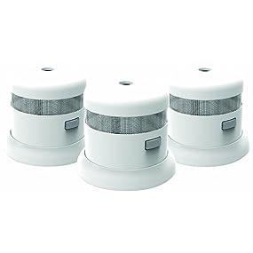 First Alert SMOKE1000-3 Atom Micro Photoelectric Smoke Alarms