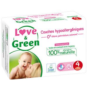 Lingettes A lEau 56 Pi/èces Lot de 5 Love /& Green