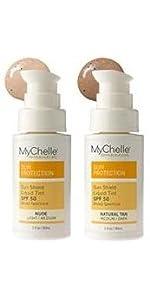MyChelle Sun Shield Clear Spray SPF 30, Zinc-Oxide, Water