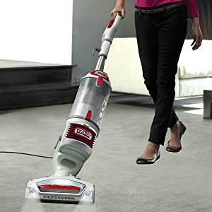 The machine offers complete vacuuming experiences