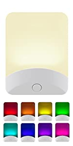 color changing led night light