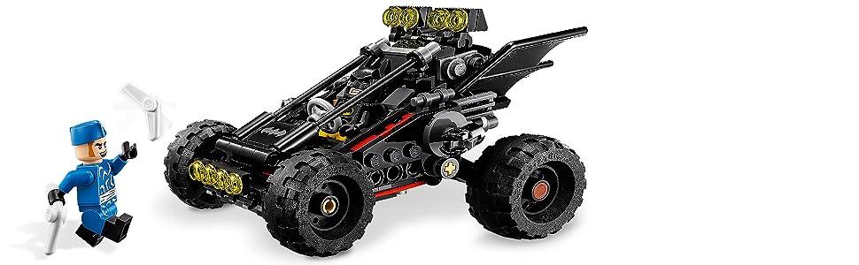 the lego batman mobie, batman, bat-dune buggy
