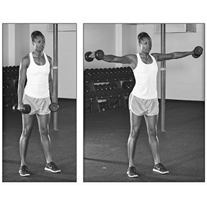 Lateral raise, Allen Hedrick, General, Book, Conditioning, Strength Training, Strength, Power,